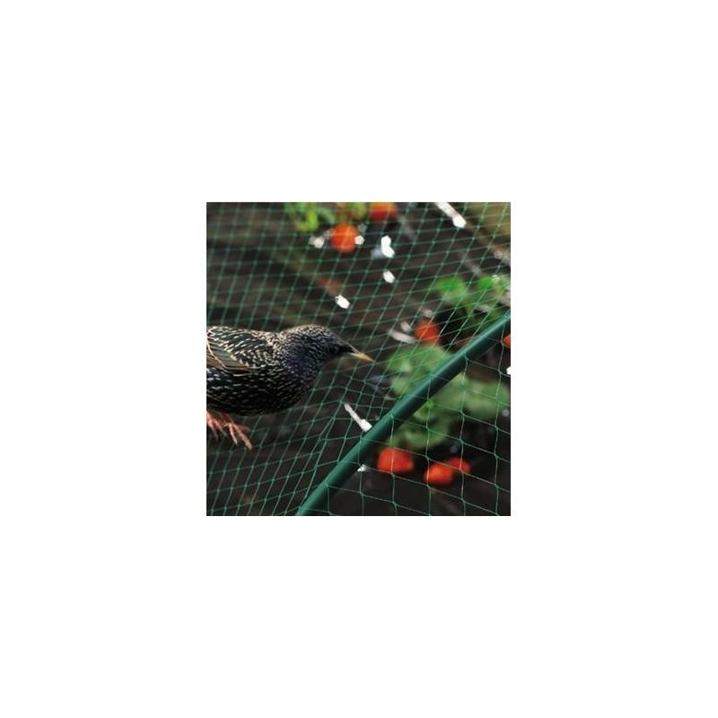 Tela antipájaros de plástico Birdnet