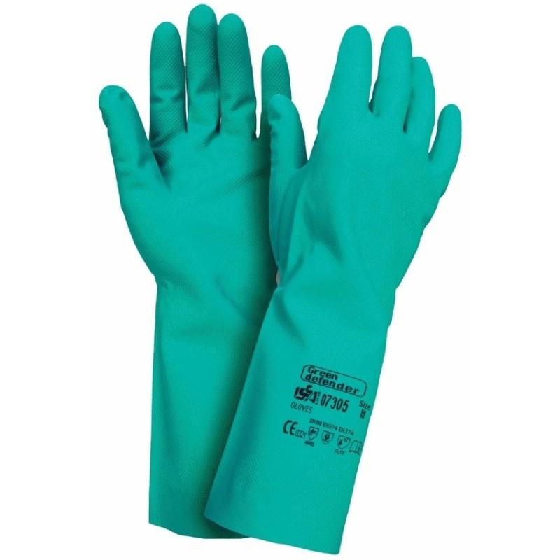 Guantes de nitrilo Green Defender 07305
