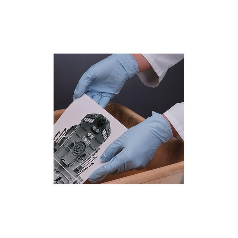 Caja de 100 guantes de nitrilo desechables