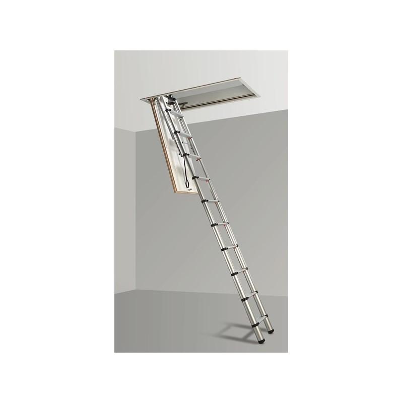 Escalera para techo loft svelt tienda de escaleras escamoteables - Escalera de techo ...