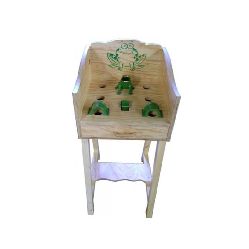 Juego de la Rana + mueble con cajón