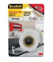 Cinta de doble cara gruesa Strong de Scotch 3M