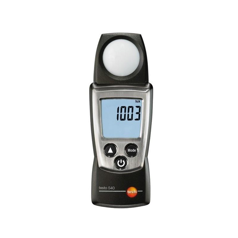 Luxómetro Testo 540 para medir intensidad de luz