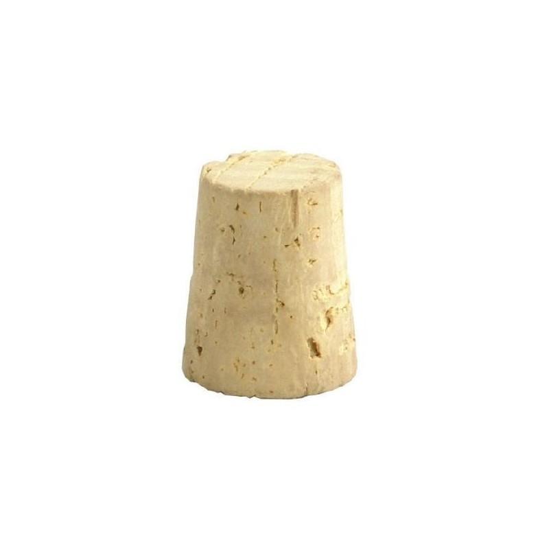 Saca de 500 un. de tapones de corcho cónico natural para vino