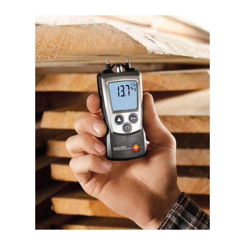 Medidor de humedad testo 606 1 venta de medidores digitales - Medidor de humedad ...
