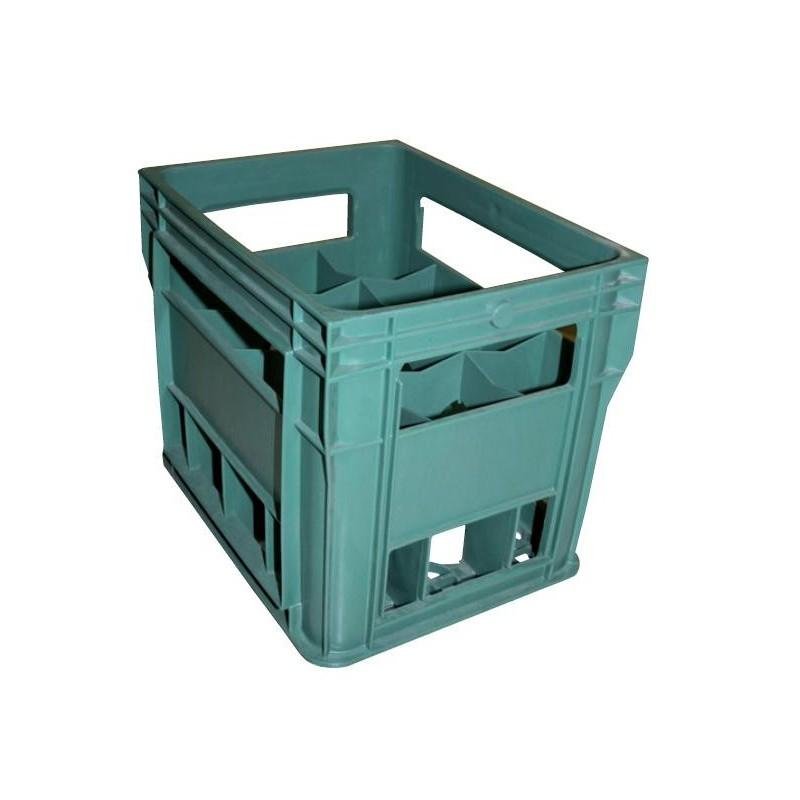 Caja de sidra de pl stico para 12 botellas venta online - Cajas de plastico ...