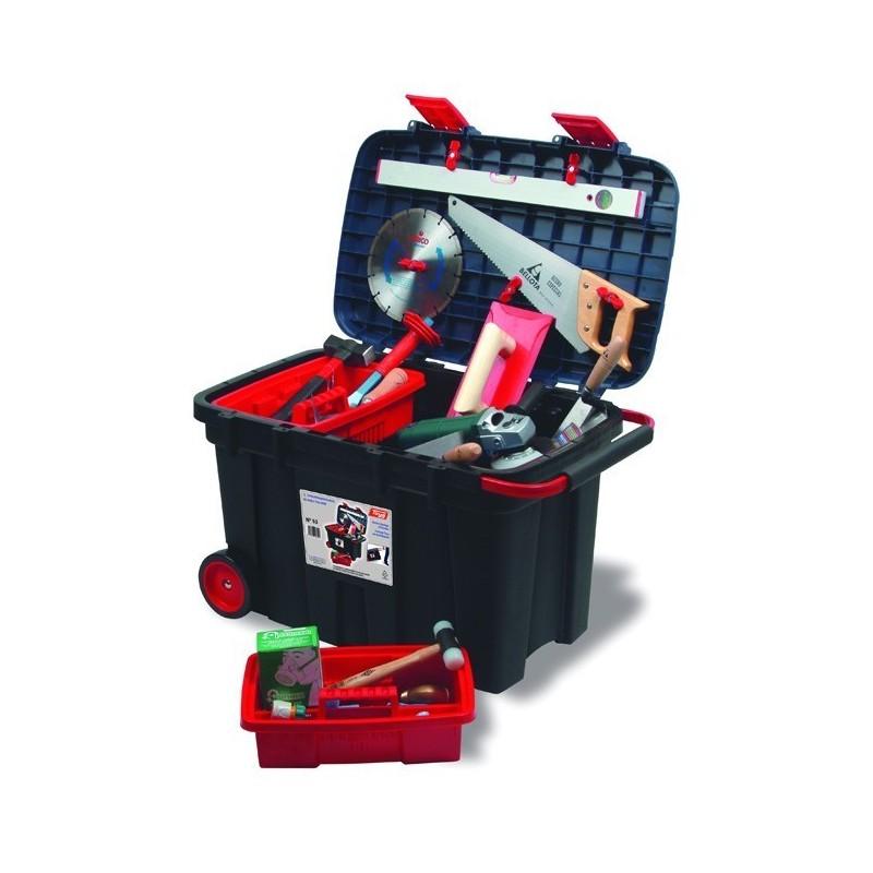 Cofre de herramientas con ruedas Tayg Nº 53