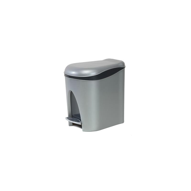 Cubo de basura con pedal de 7 litros comprar cubo de basura for Cubos de basura con pedal