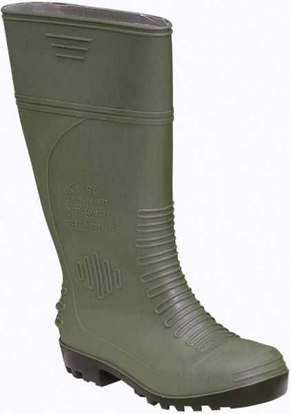 Bota de agua en PVC con puntera y plantilla reforzadas. Venta de botas 708635c3ca