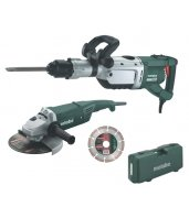 Pack Metabo de Martillo demoledor MHE 96 + Amoladora WX2000 + Disco