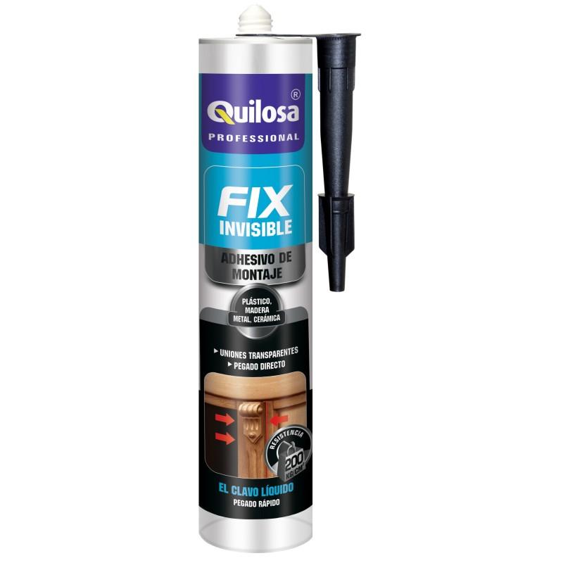 Adhesivo de montaje Fix Invisible. Cartucho 300 ml.