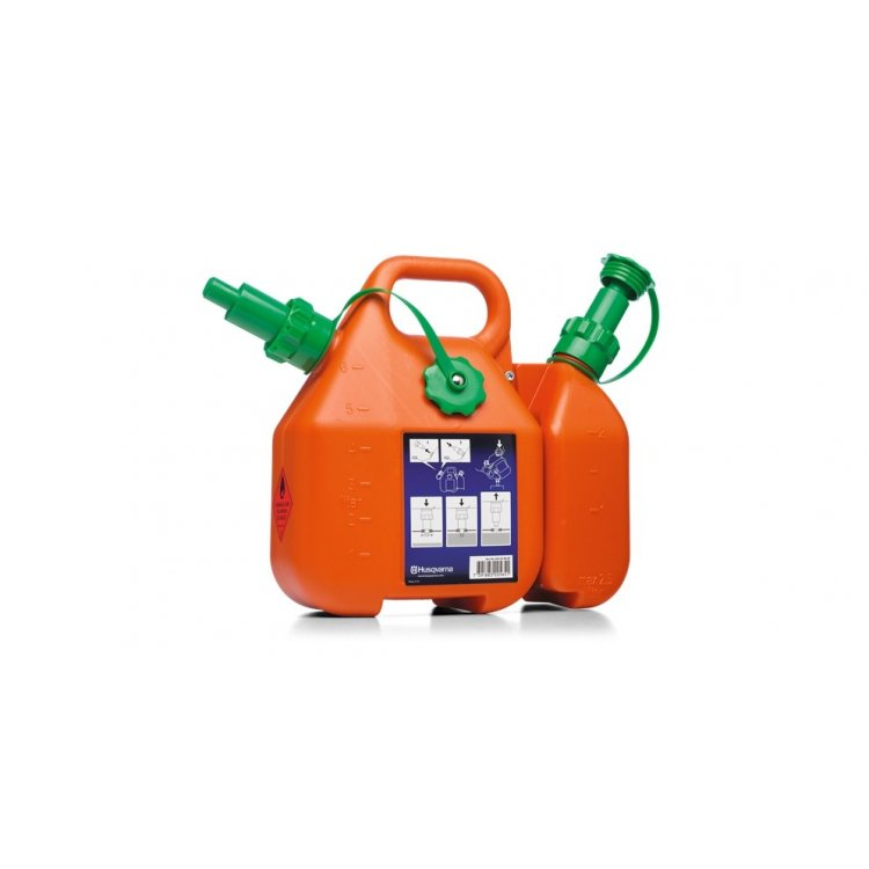 Bidón combi para combustibles y aceite 6 + 2,5 litros de Husqvarna