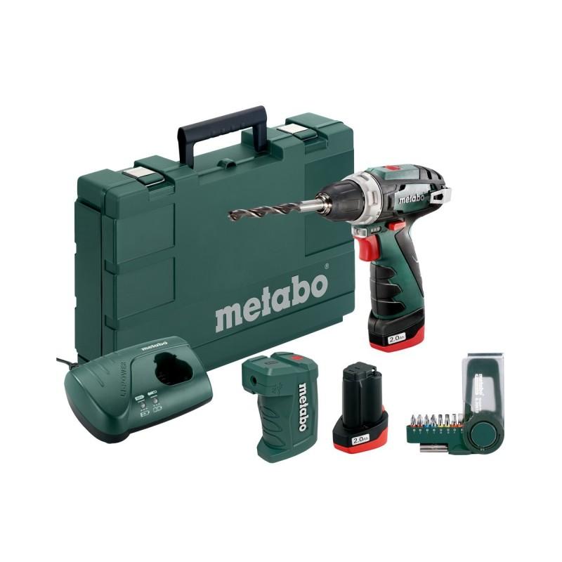 Pack de Taladro Powermaxx BS Basic SET + Adaptador + Puntas