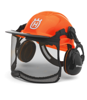 Kit Forestal Functional con casco, orejeras y pantalla