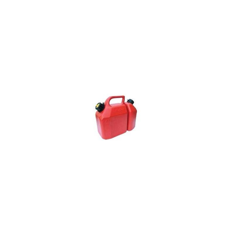 Bidón para gasolina y aceite homologado de 6+2,5 litros.