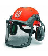 Kit Forestal Technical con casco, orejeras y pantalla