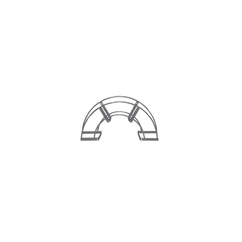 Colgador de pared de acero para manguera