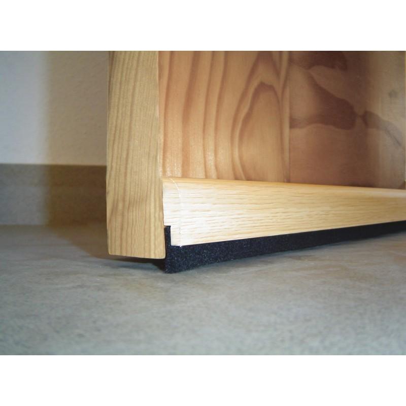 Burlete adhesivo de madera venta de burletes para puertas - Burlete puerta ...