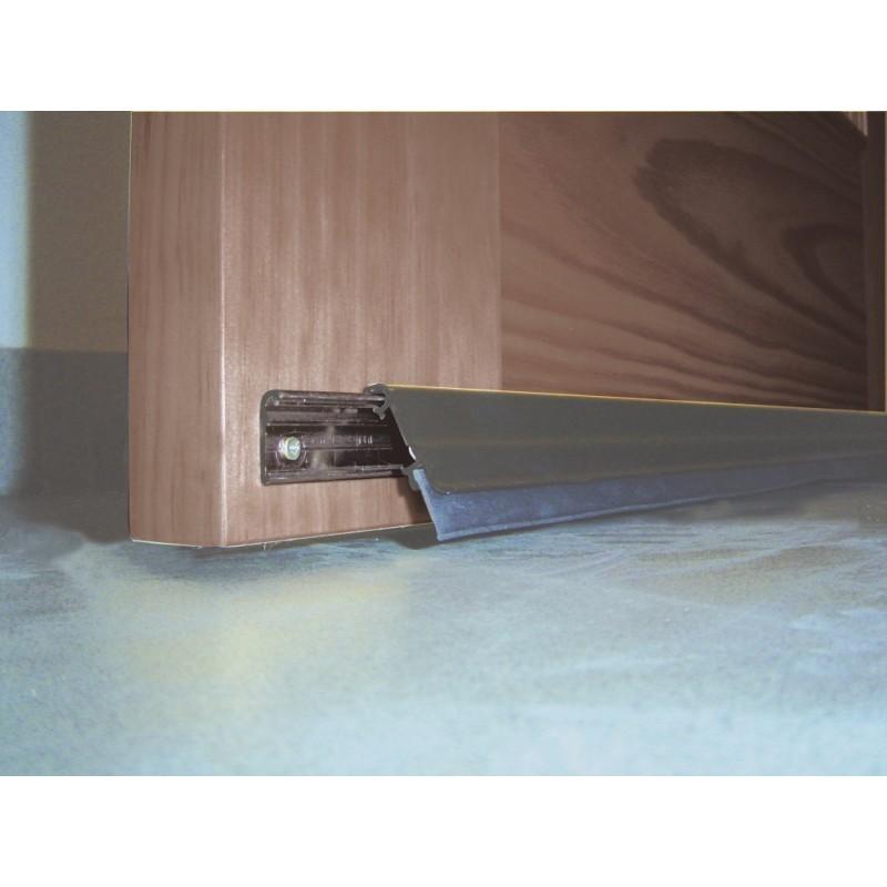 Burlete basculante interior exterior de aluminio venta de - Burletes para puertas de garaje ...