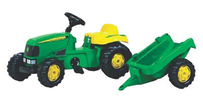 Tractor infantil a pedales