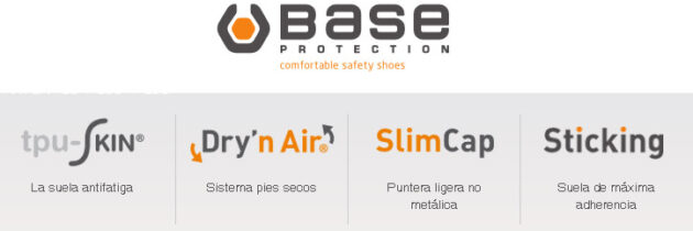 Calzado de seguridad Base Protection