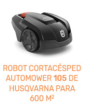 Robot Automower 105 para 600 metros cuadrados