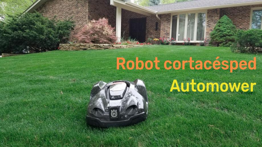 Robots cortacéspedes Automower de Husqvarna