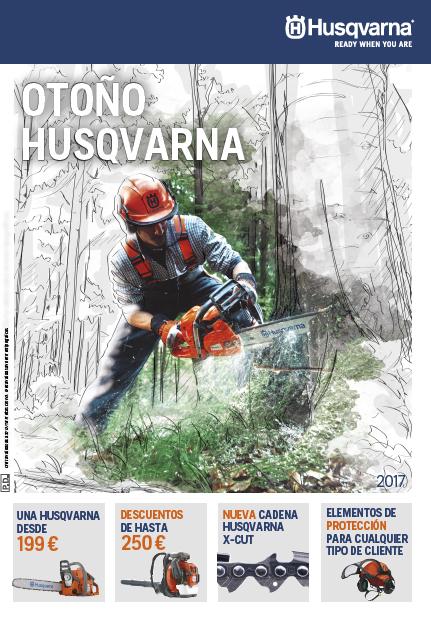 Oferta Husqvarna Otoño 2017