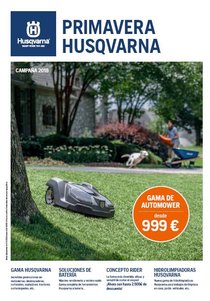 Oferta Husqvarna Primavera 2018